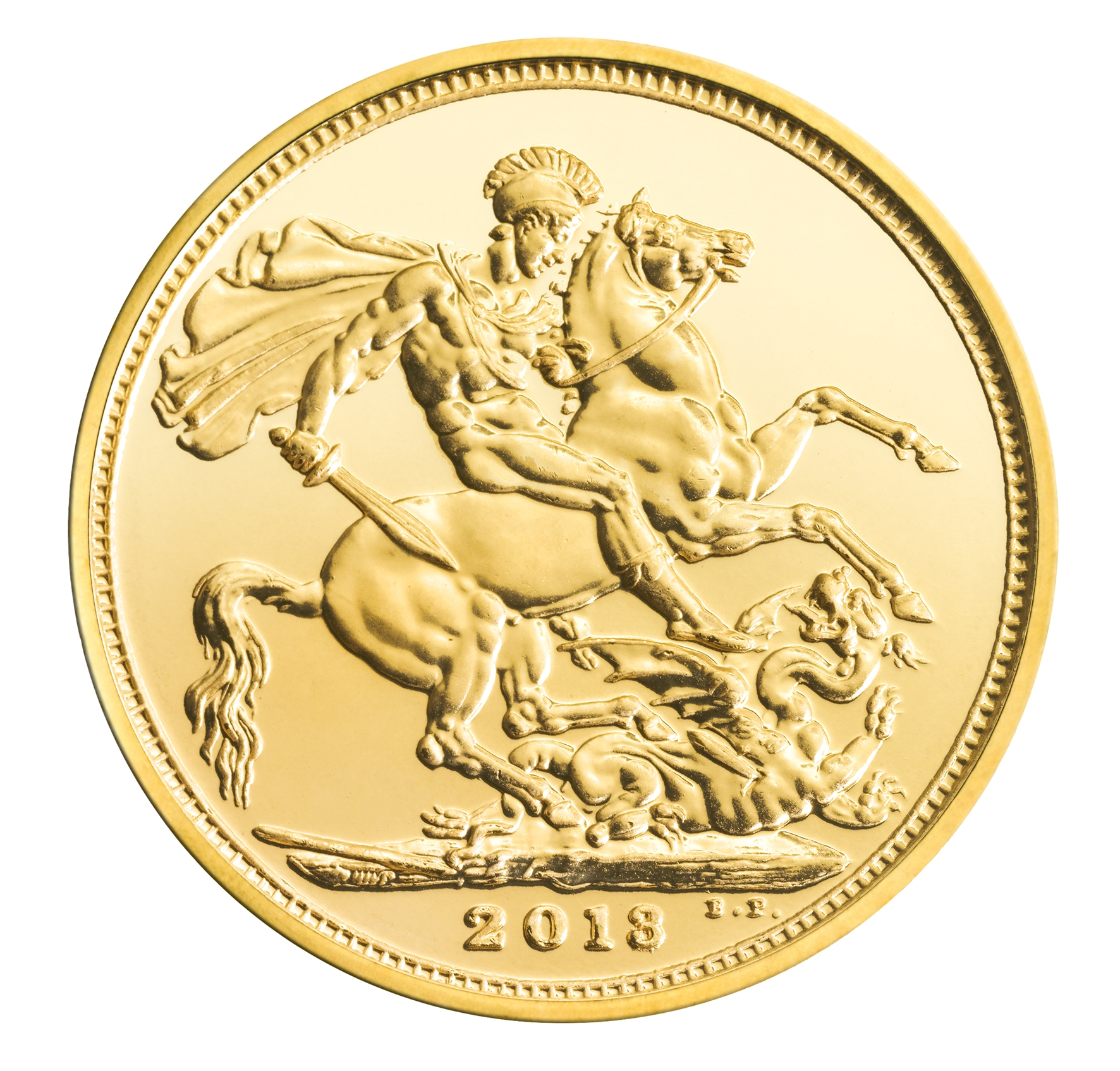 British Gold Sovereign Reverse