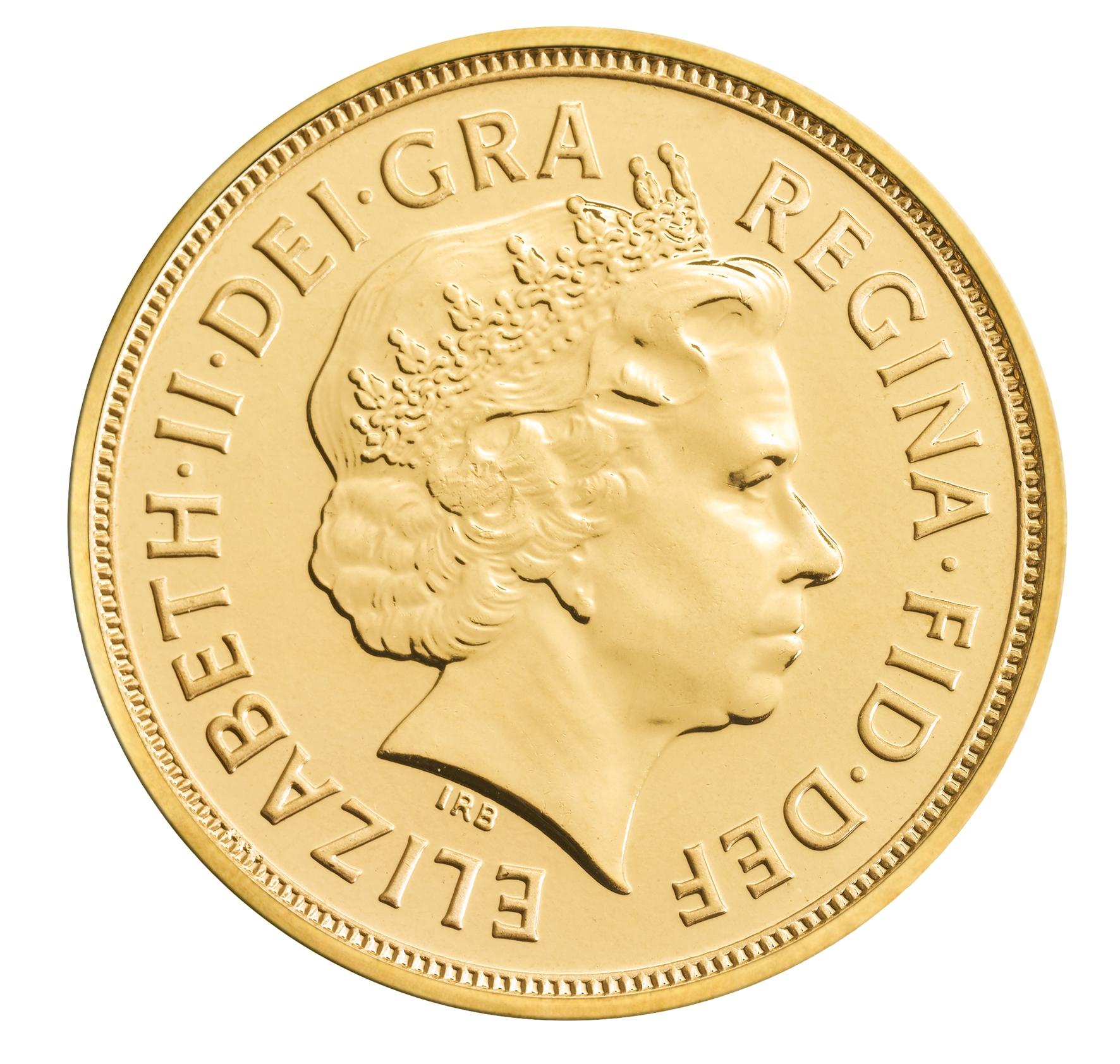 British Gold Sovereign Obverse