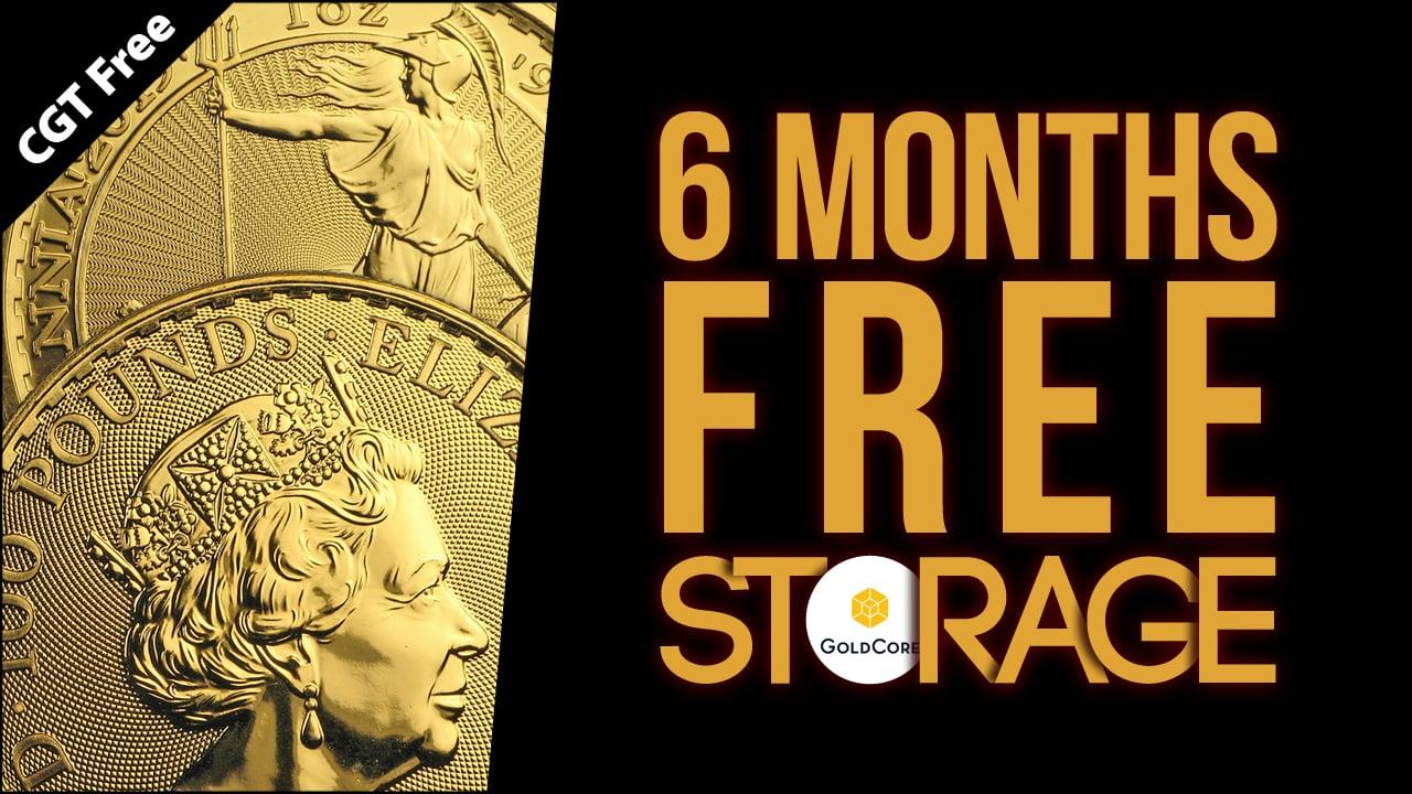 CGT Free 6 Months Free Storage